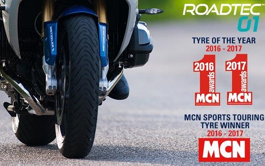 Tyske Metzeler har netop lanceret Roadtec 01!