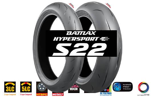 Bridgestone Battlax s22 dæk